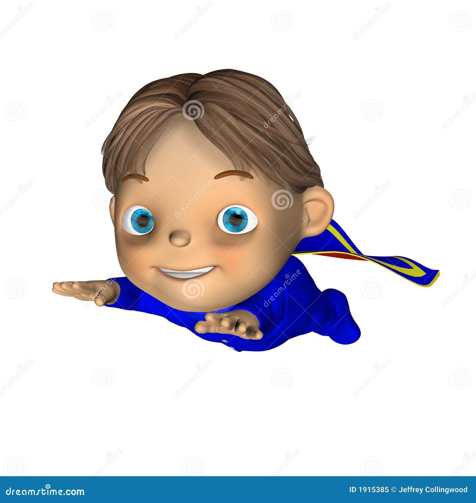 Bebê - herói super 3