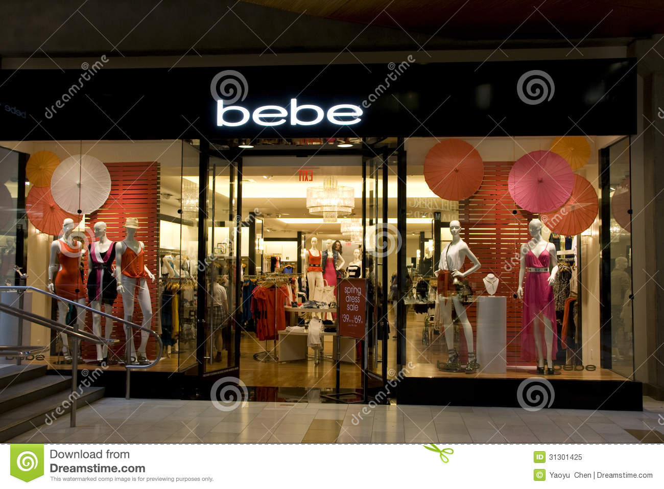 Clothing stores near times square