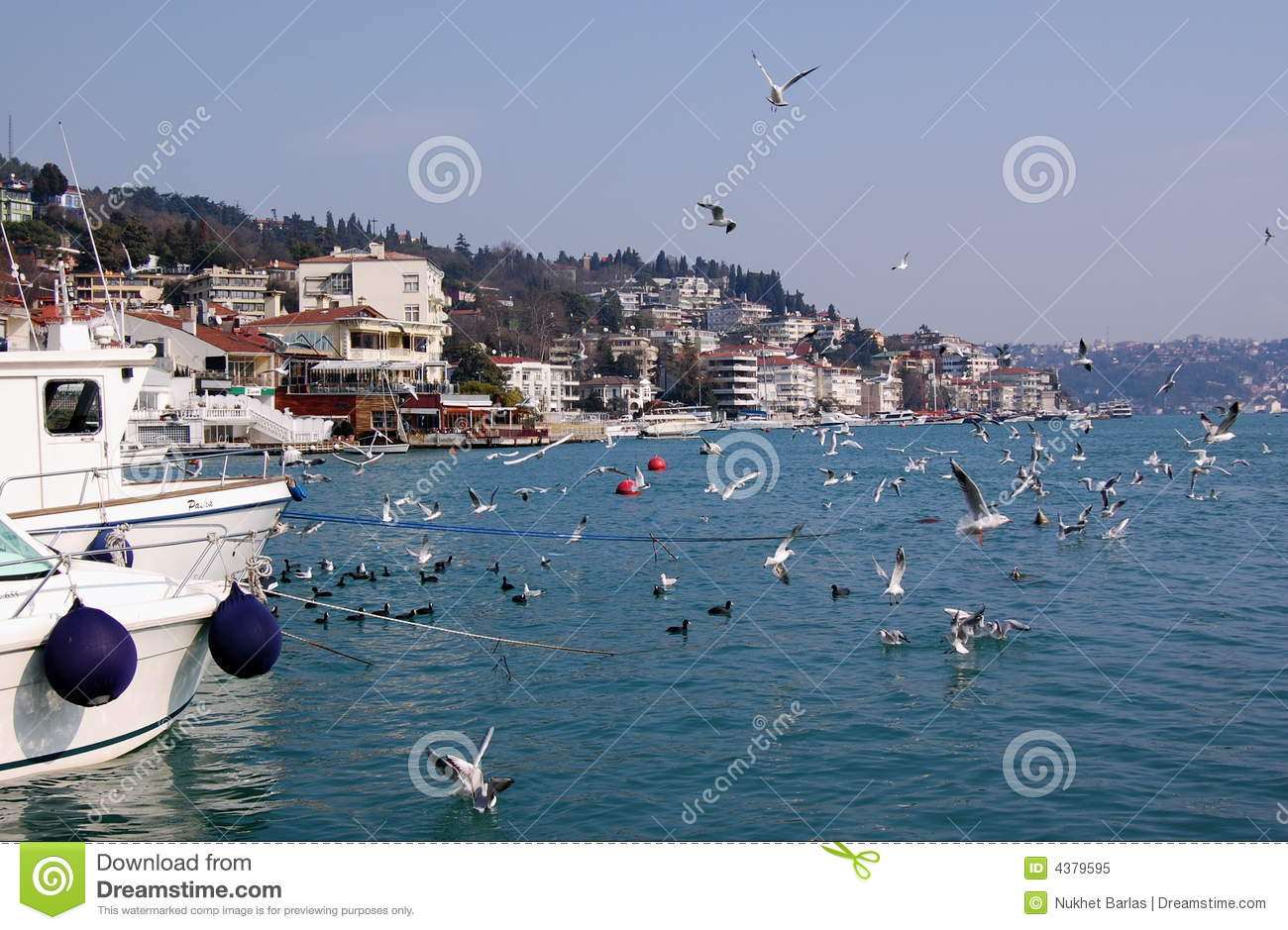 Bebek Bay, Istanbul Royalty Free Stock Photo - Image: 4379595