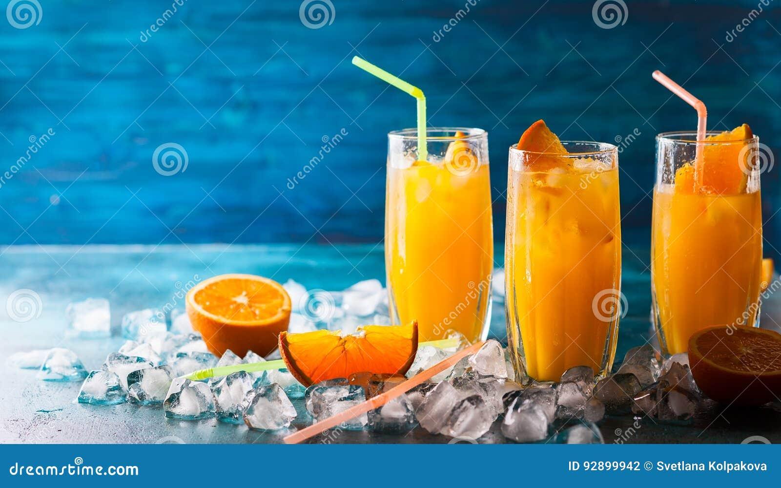Bebida alaranjada