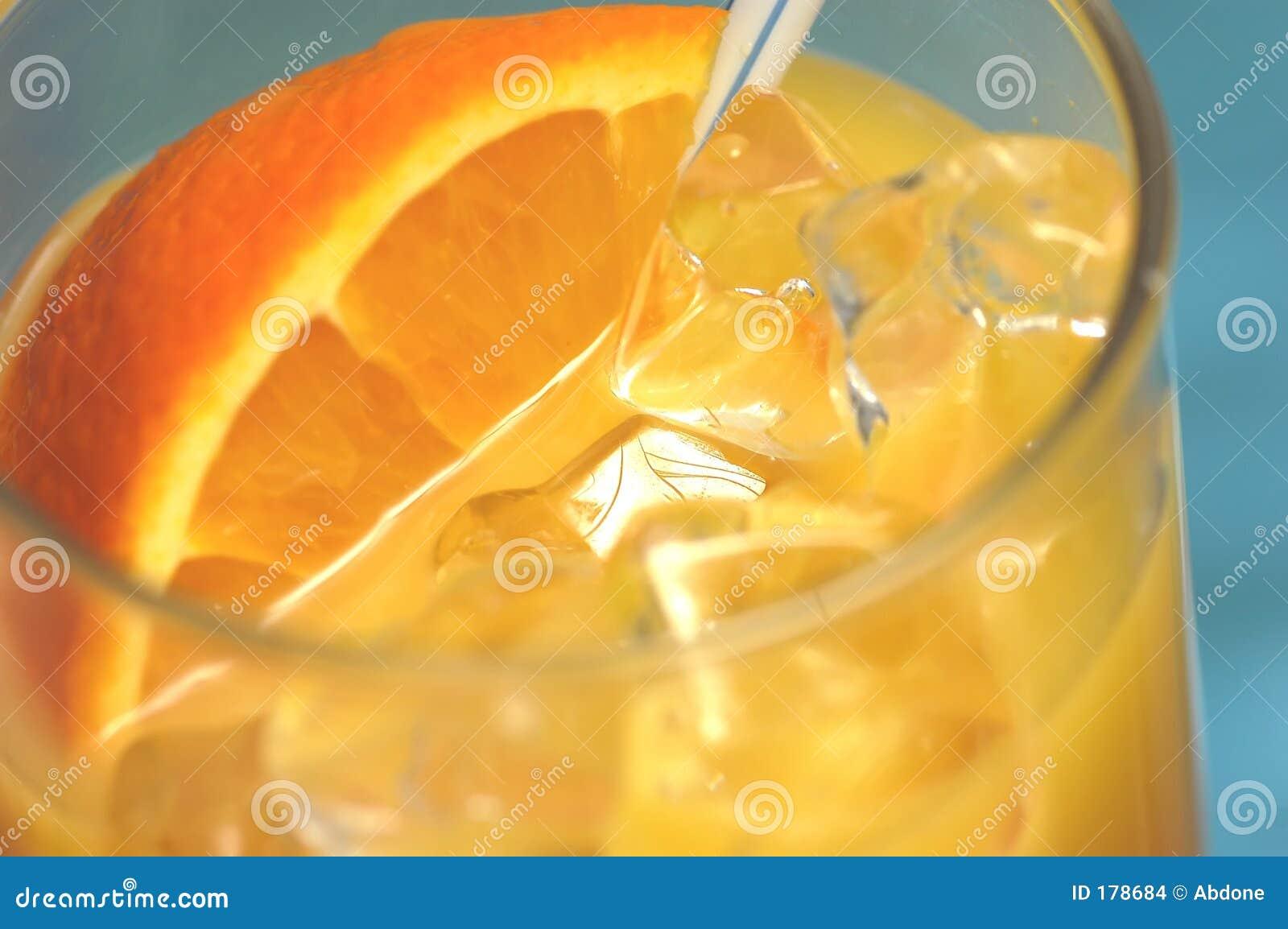 Bebida anaranjada