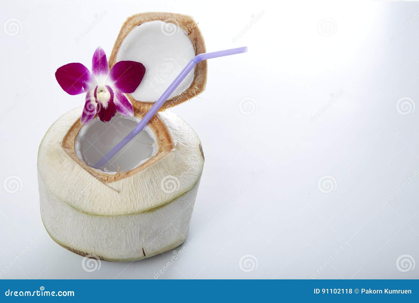 Bebida da água do coco