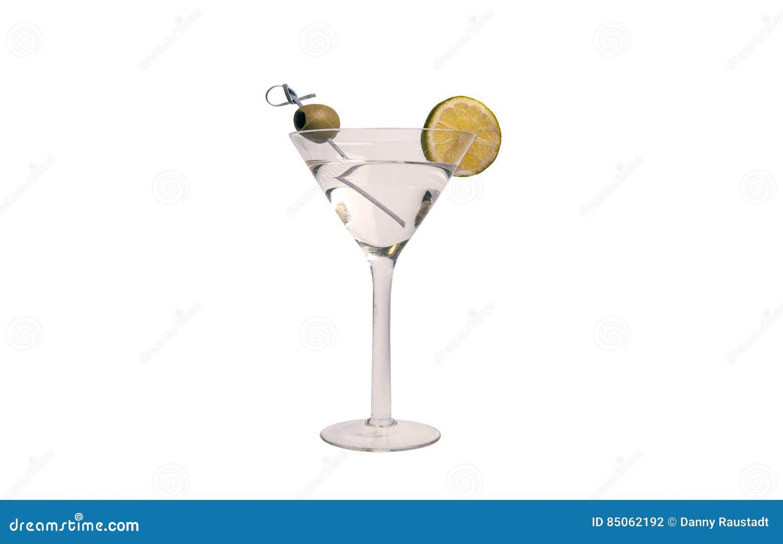Bebida del cóctel de martini de vodka