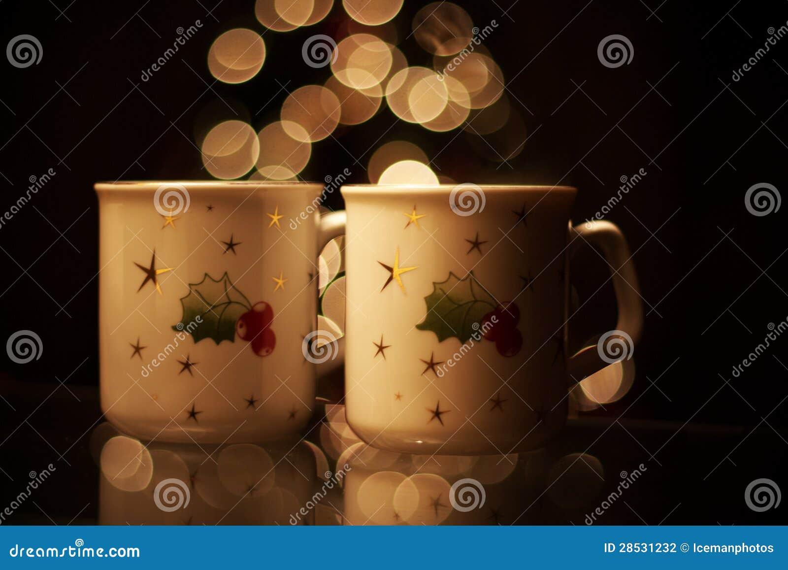 Bebidas quentes do Natal
