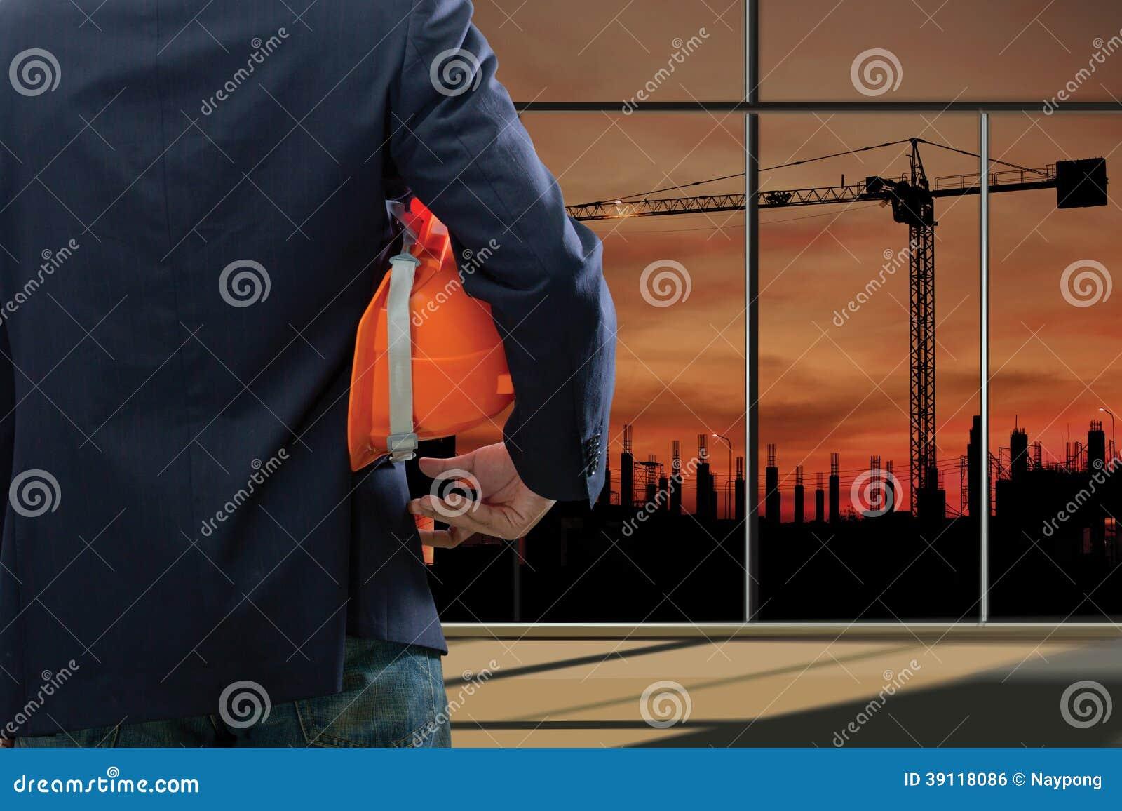 Bebouwde mening van ingenieur
