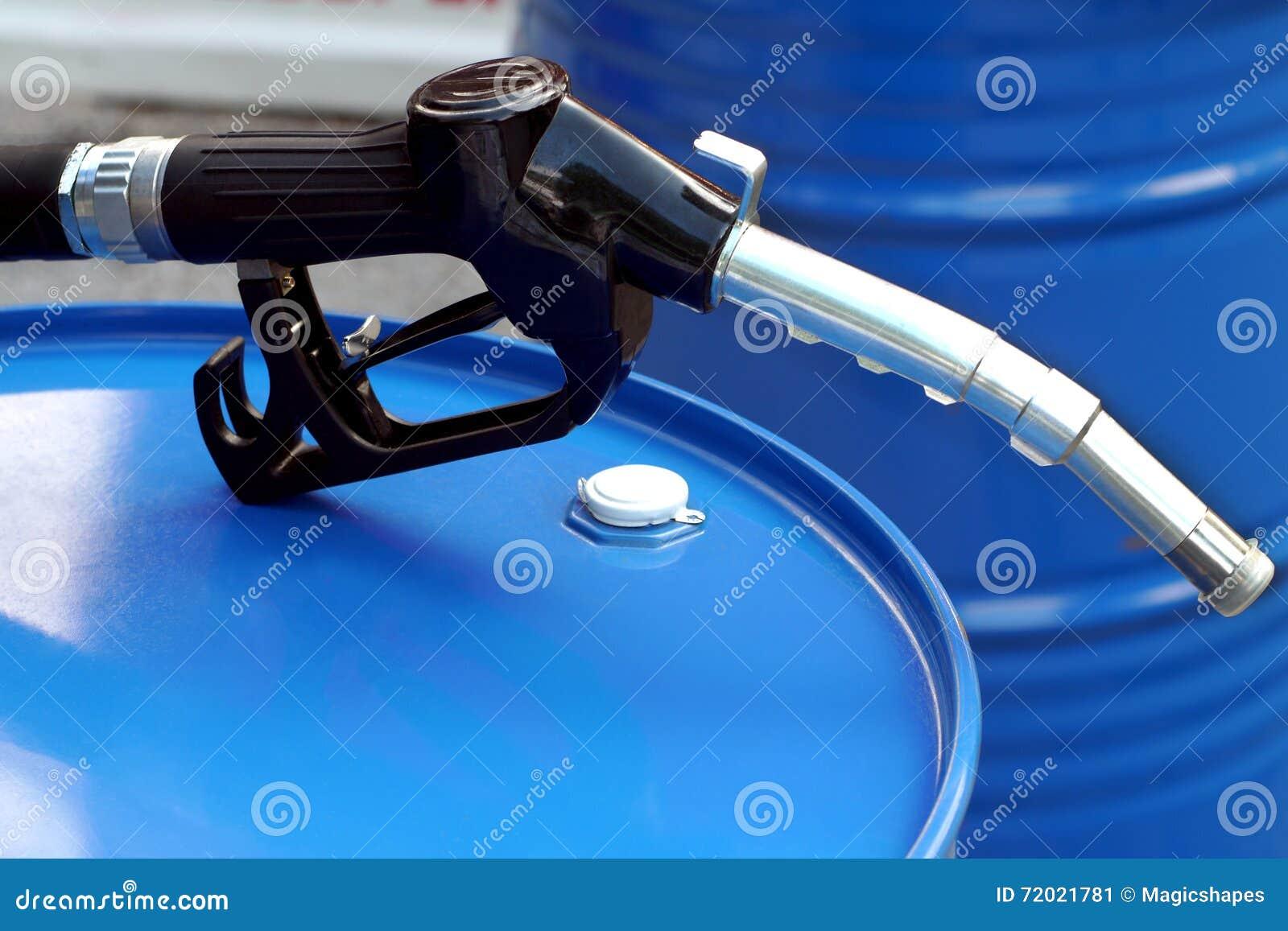 Bec d essence et d huile de pompe à baril et à gaz