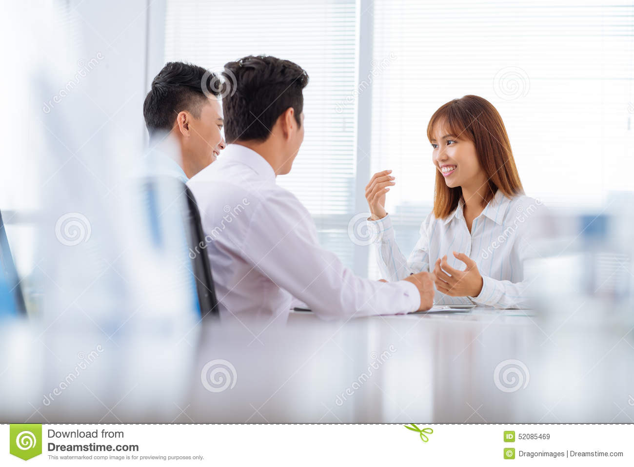 Became hysterical interview job one them