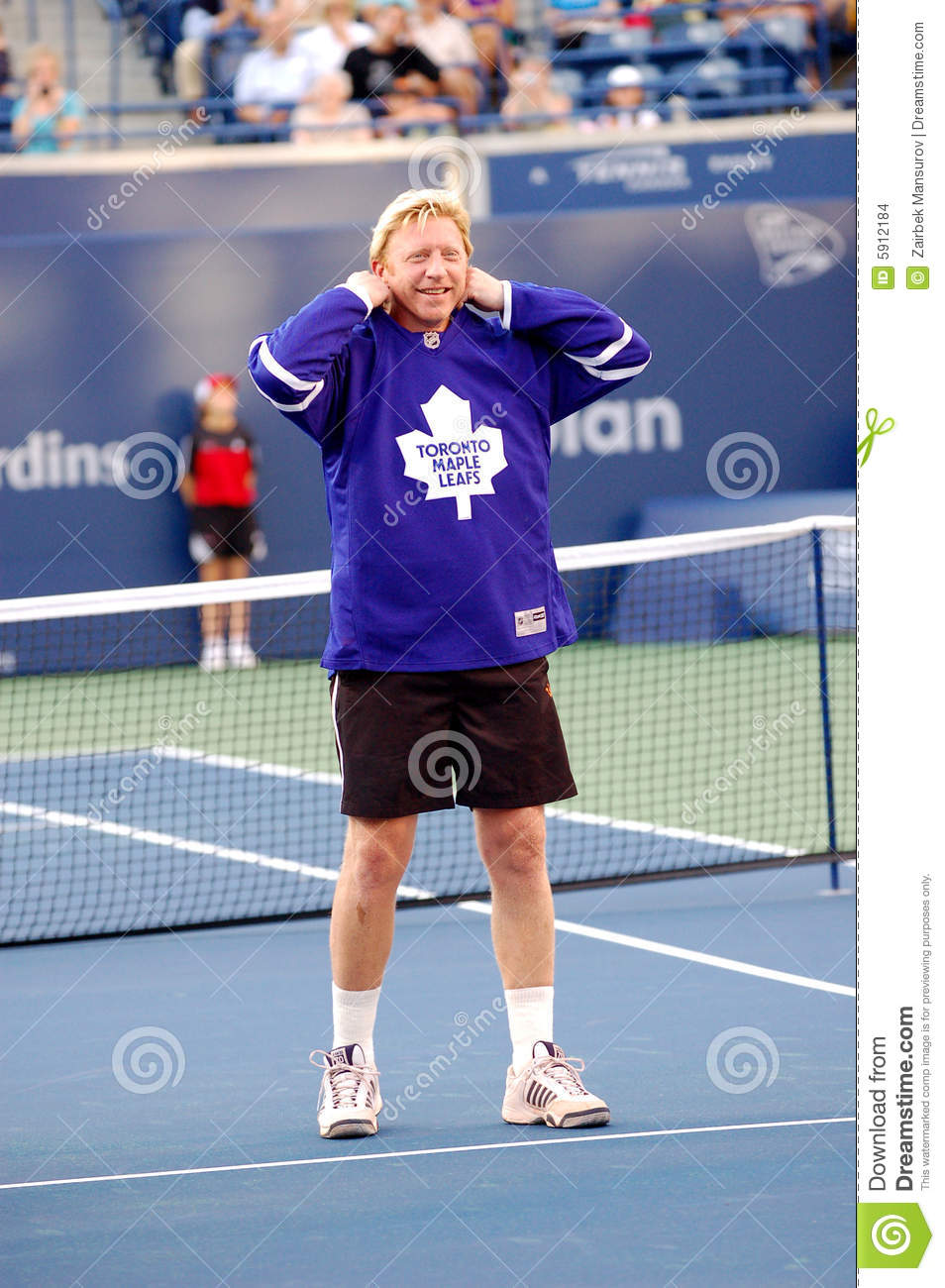 Becker boris at rogers cup 2008 15 editorial stock image for Becker payment plan