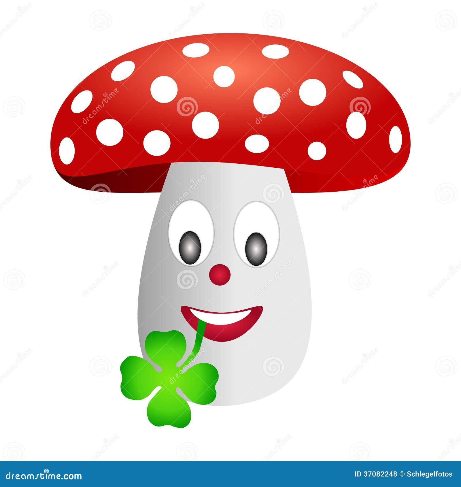 Download Bedłki Komarnicy Pieczarka Odizolowywająca Ilustracji - Ilustracja złożonej z toxic, grzyb: 37082248