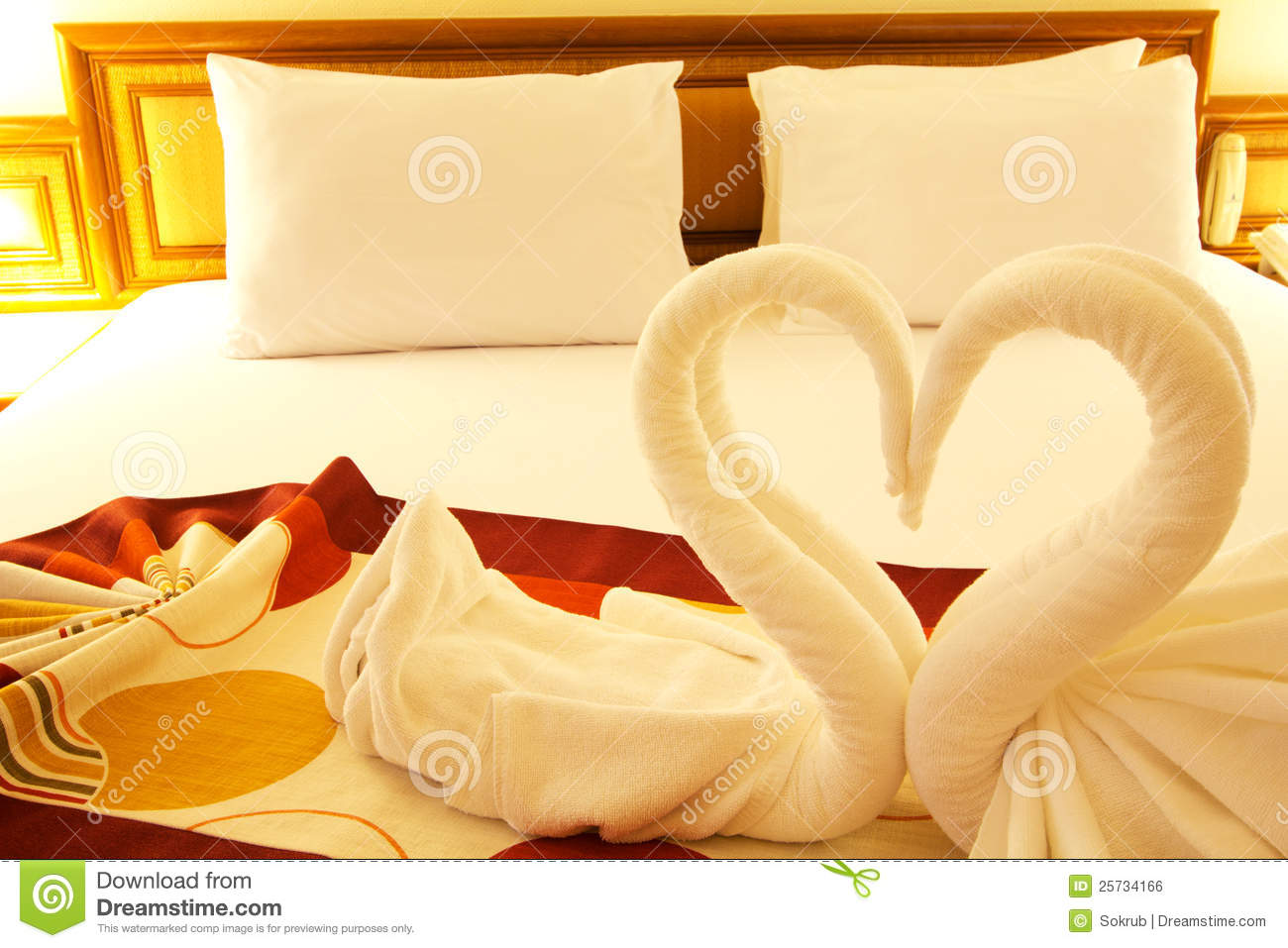 Bed Of Love Royalty Free Stock Image Image 25734166