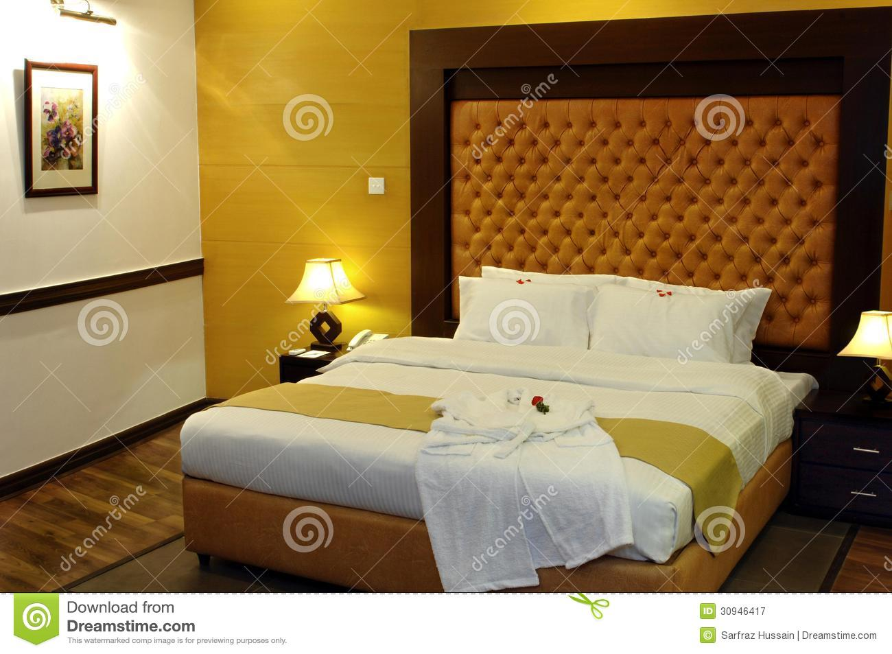 Bed Room Royalty Free Stock graphy Image