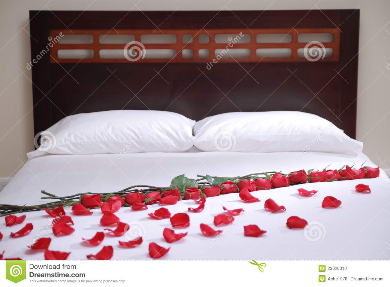 Bed Of Roses Stock Photo Image Of Furniture Champagne