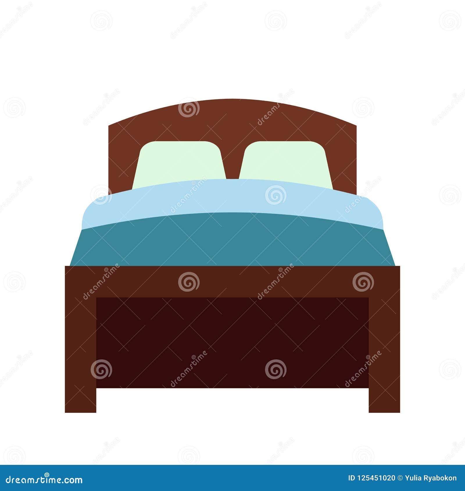 Bed vlak pictogram