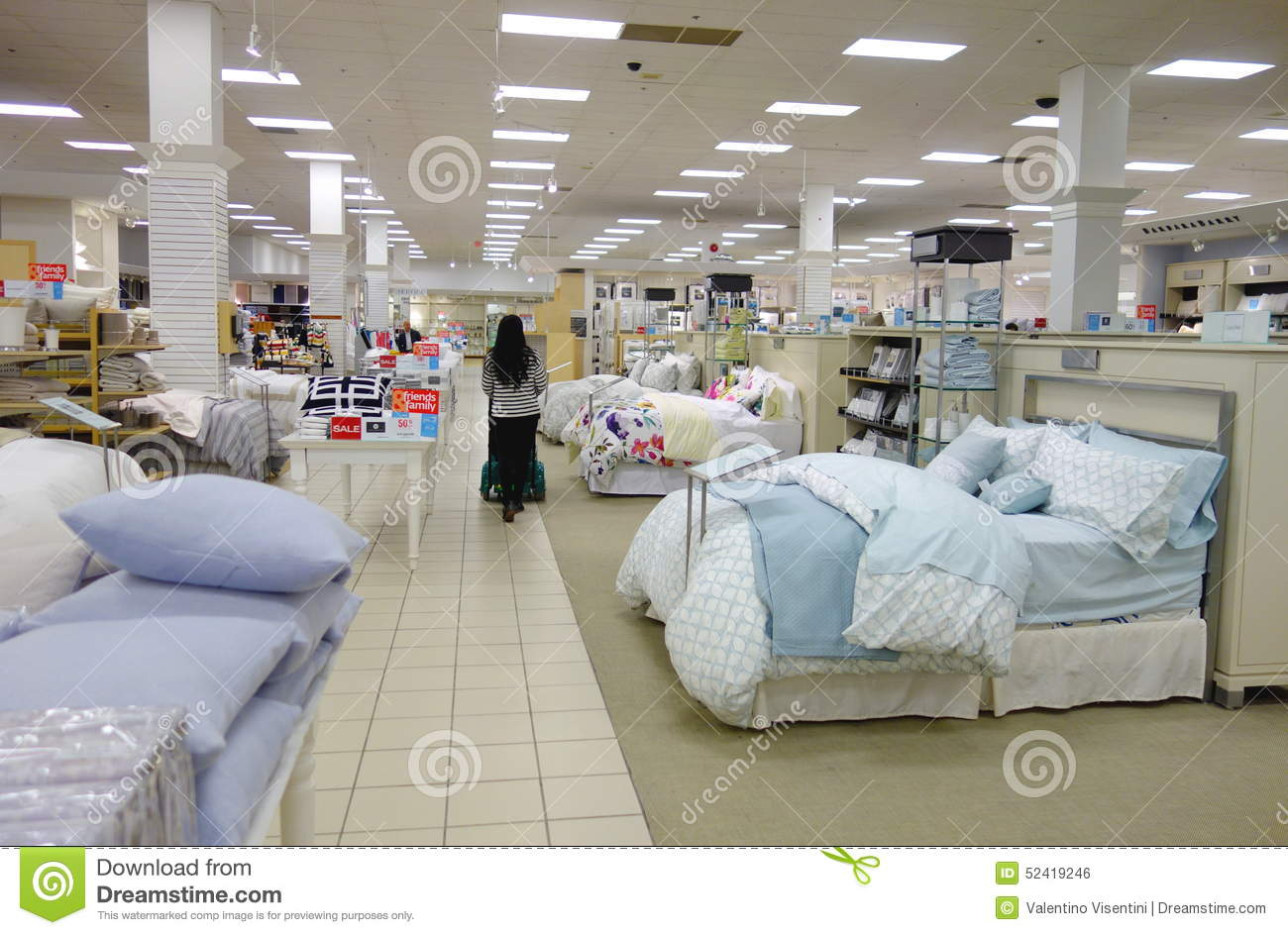Bedding Area Editorial Photo Image Of Center Pillows 52419246