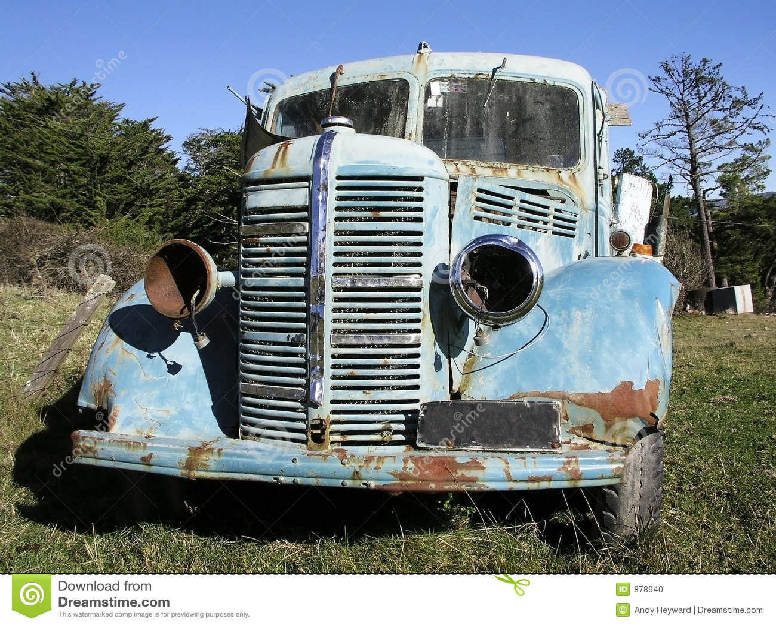 Bedford 2 stara ciężarówka