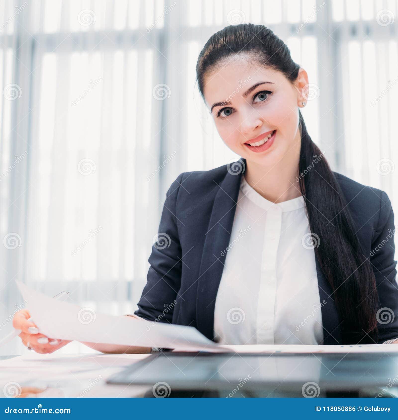 Bedrijfrecruiter de baan van de bedrijfsu bureaumanager