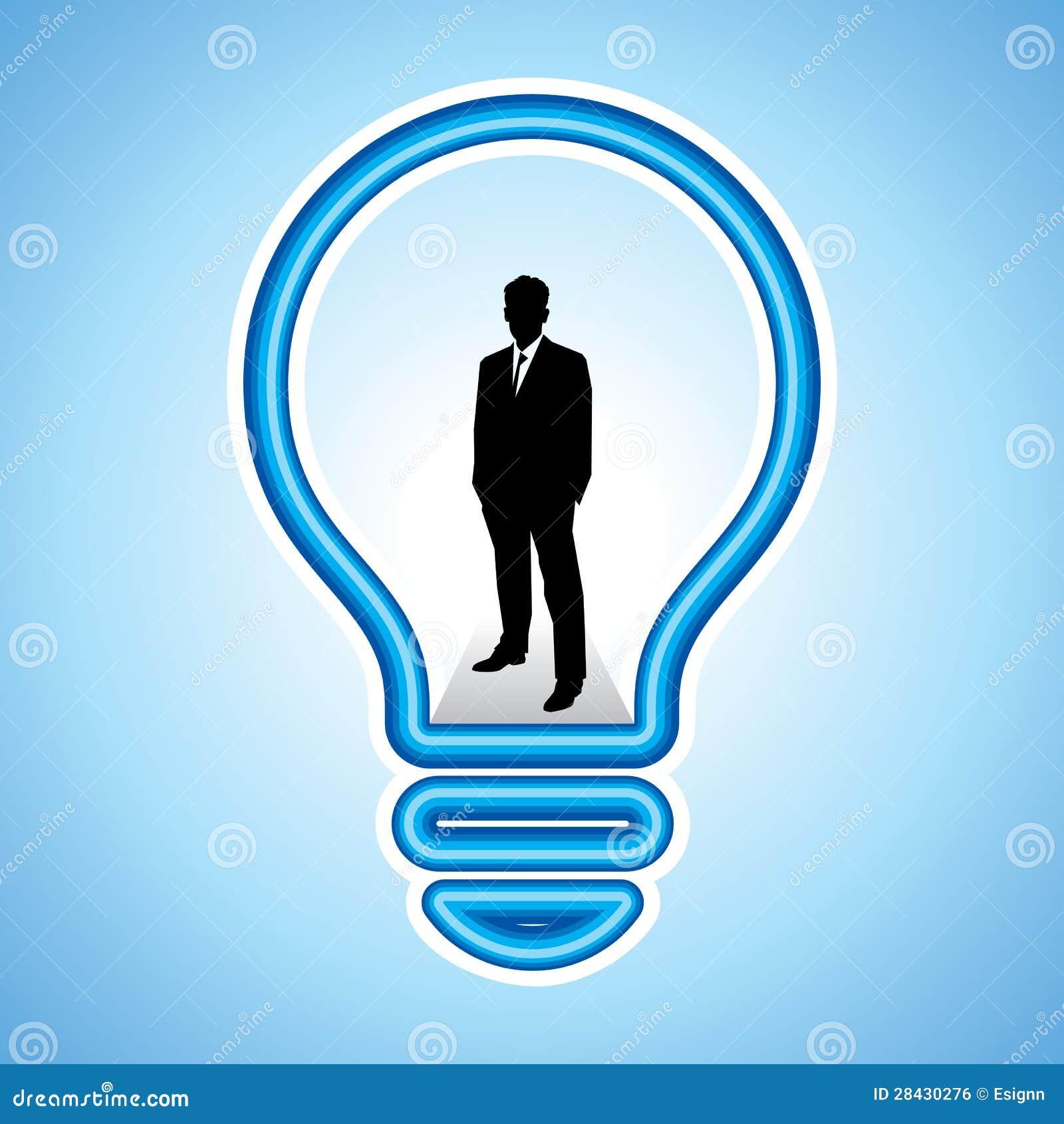 Bedrijfs concept met nieuw idee