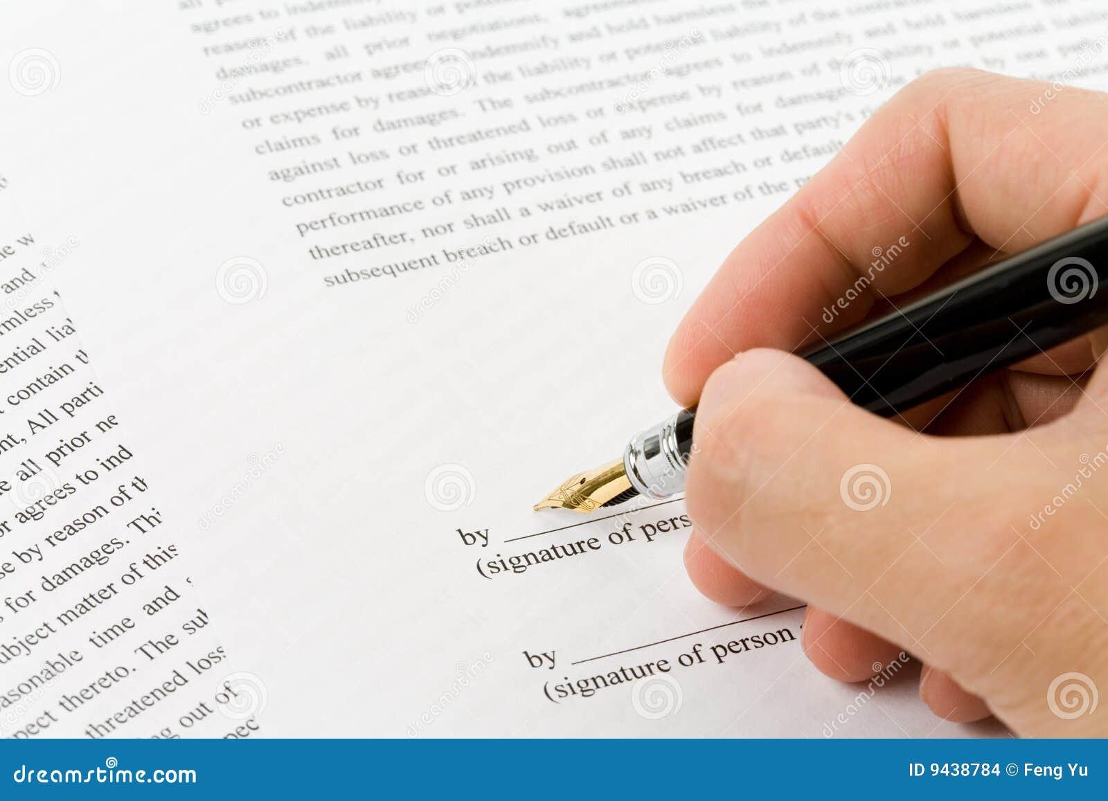 Bedrijfs Contract