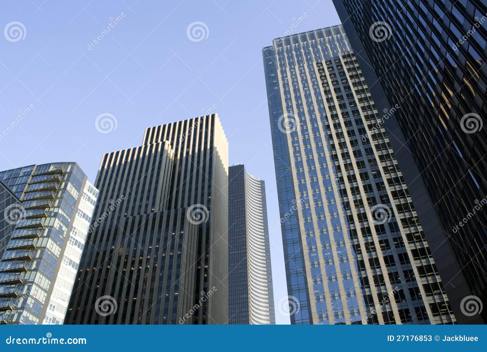 Bedrijfs gebouwen, bureaus