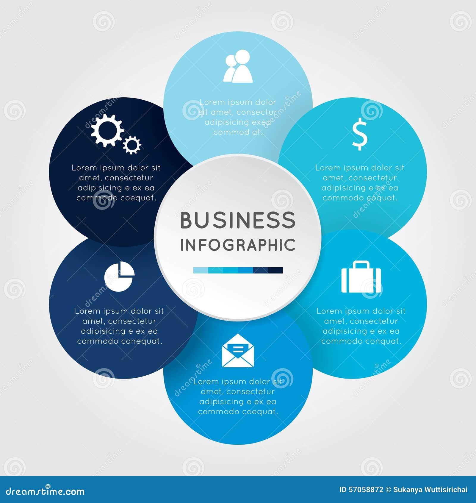 Bedrijfs infographic Bloem
