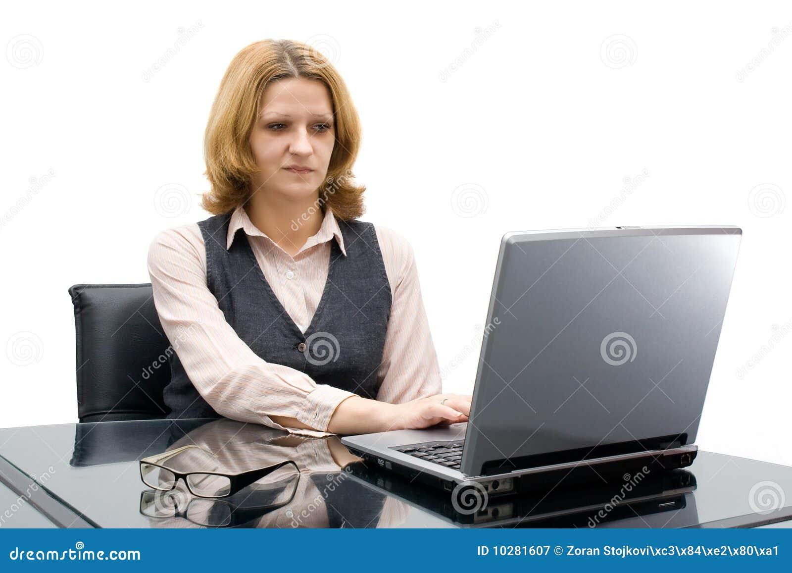 Bedrijfs vrouw