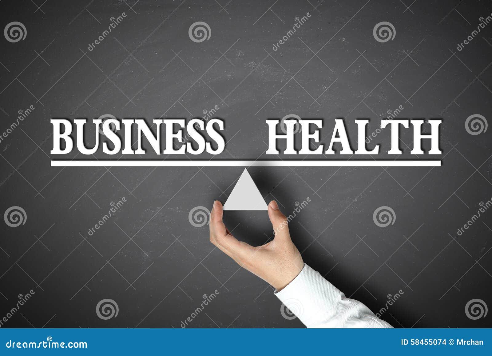 Bedrijfsgezondheidssaldo