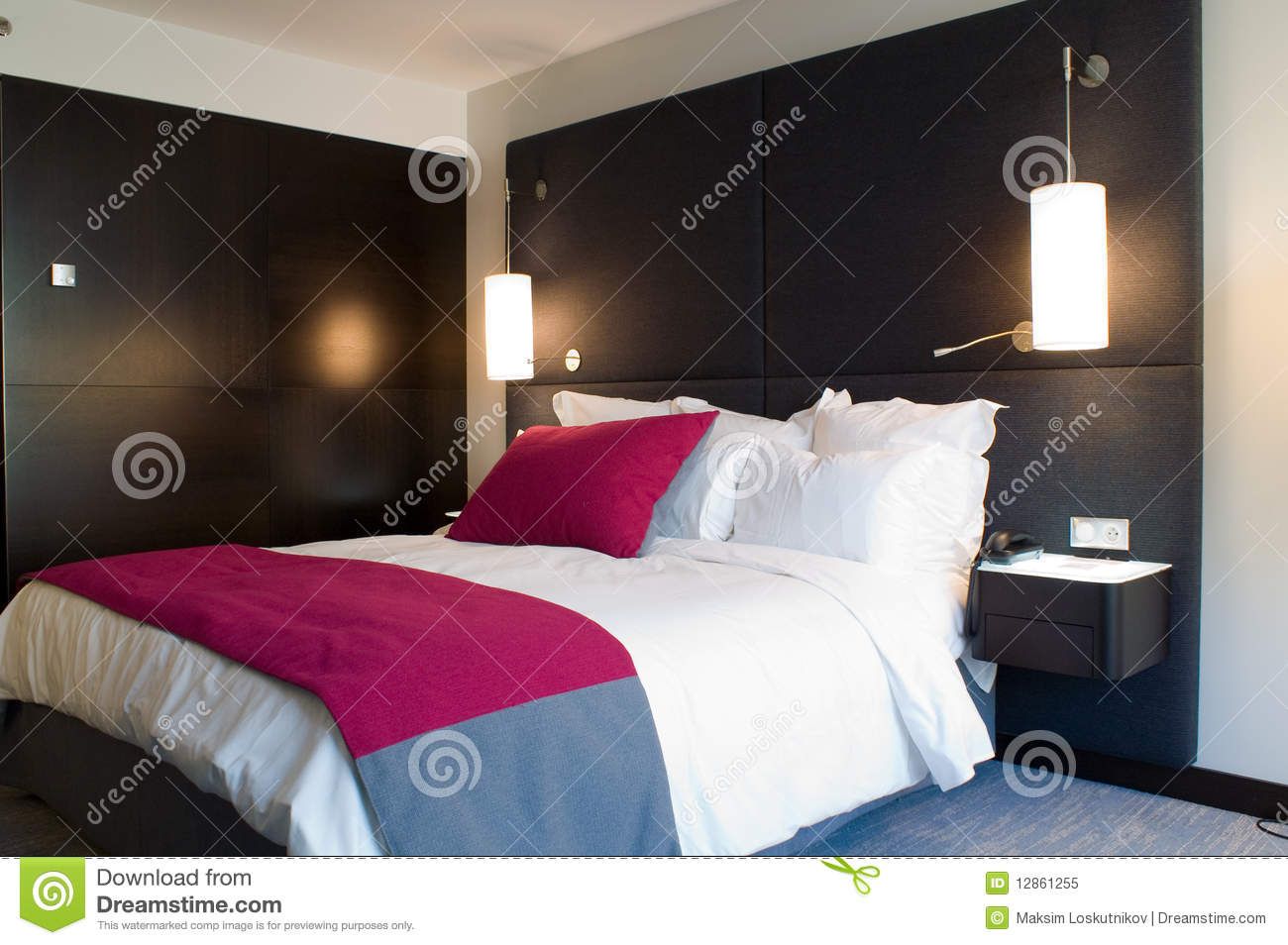 Bedroom royalty free stock photo image 12861255 - Bed room photo ...