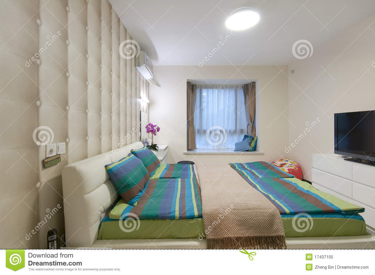 Bedroom royalty free stock photo image 17437105 - Image bed room ...