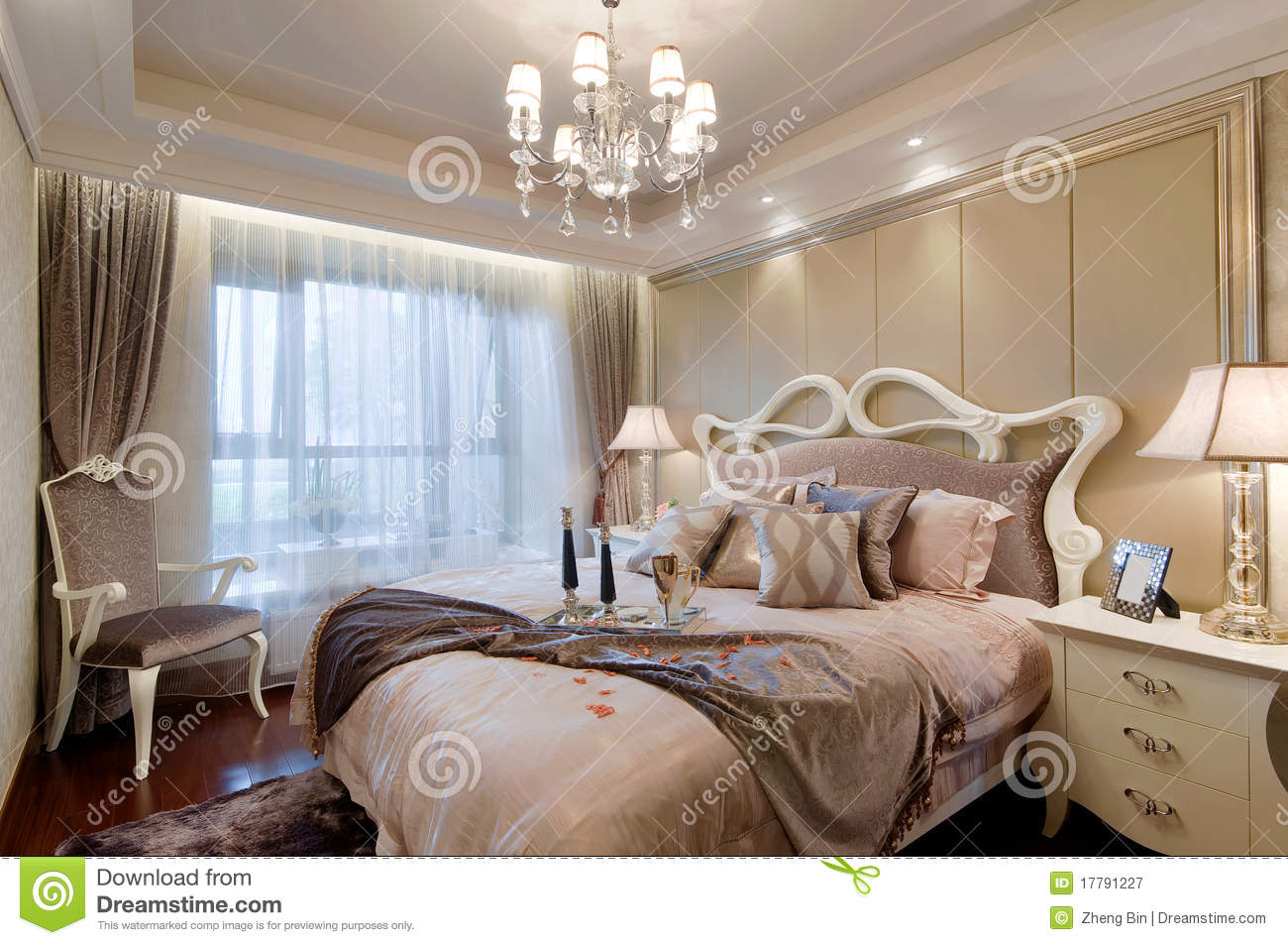 Bedroom royalty free stock photography image 17791227 - Image bed room ...
