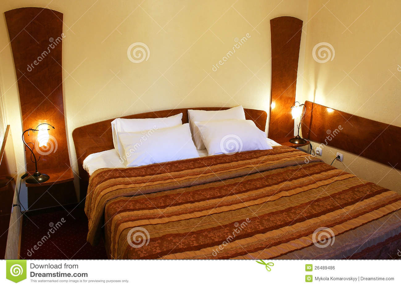 Bedroom royalty free stock image image 26489486 for Well decorated bedroom