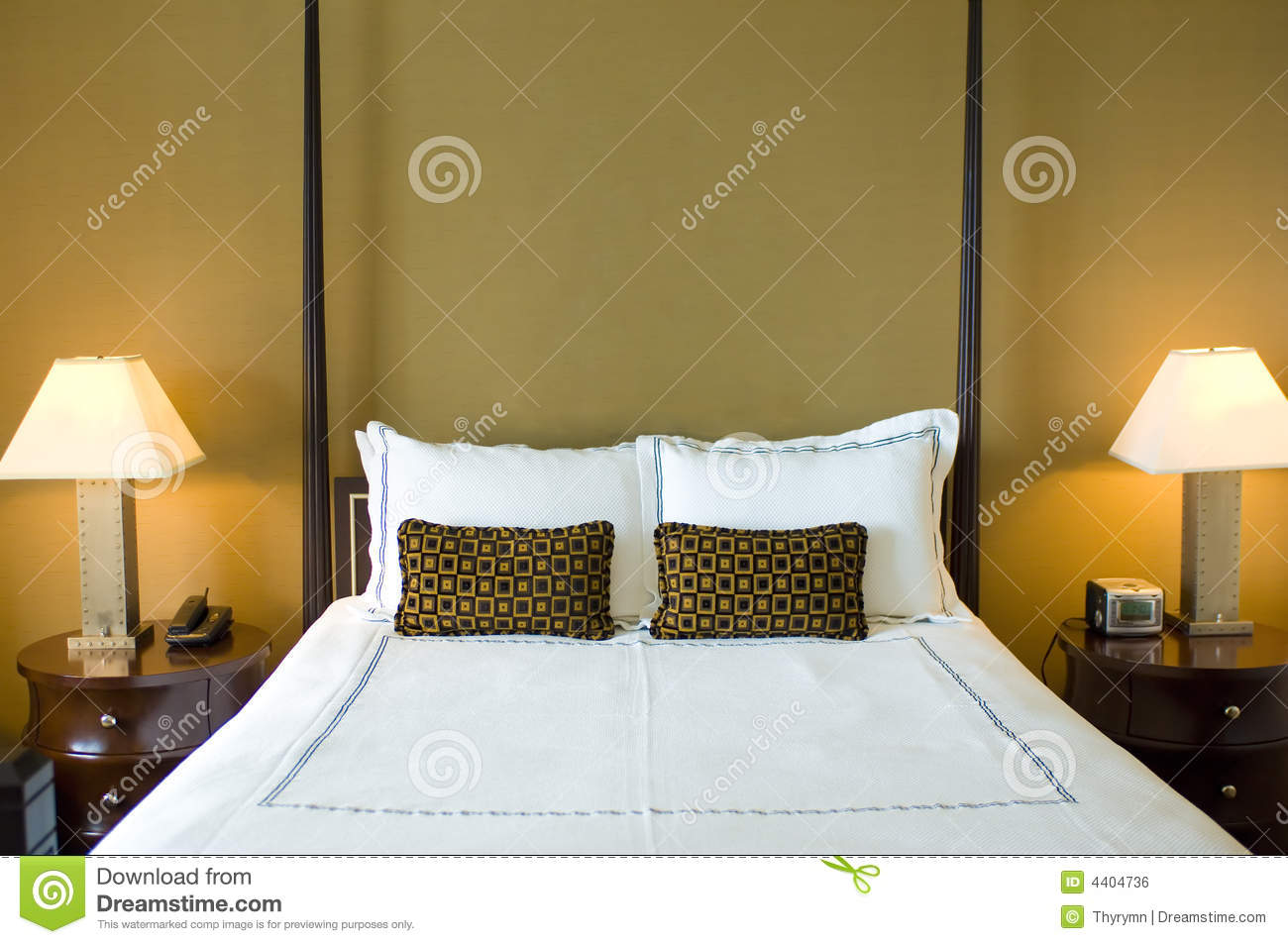 Bedroom royalty free stock image image 4404736 - Beautiful snooze bedroom suites packing comfort in style ...