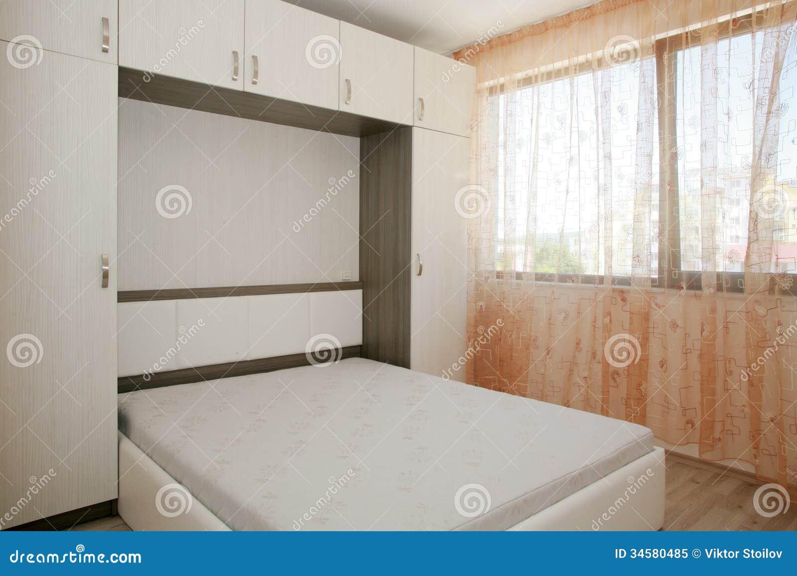 Bedroom Royalty Free Stock Photo - Image: 34580485 - Small Bedroom With Wardrobe