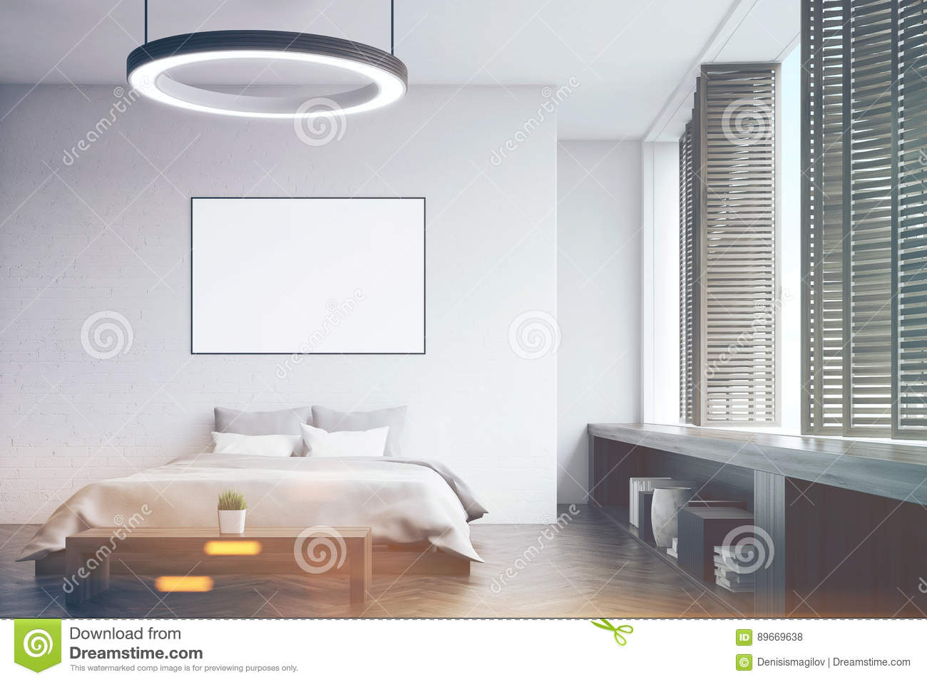 Phenomenal Bedroom With A Bench Front Toned Stock Illustration Camellatalisay Diy Chair Ideas Camellatalisaycom