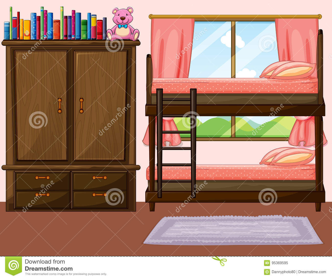 Bunkbed Cartoons Illustrations Vector Stock Images 90 Pictures