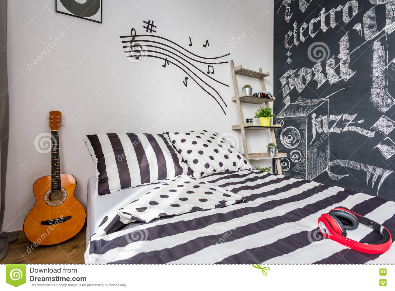 chalkboard wall in music room royalty free stock photo cartoondealer