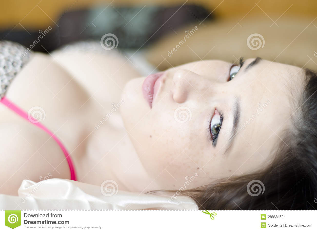 bedroom eyes royalty free stock photos - image: 28868158