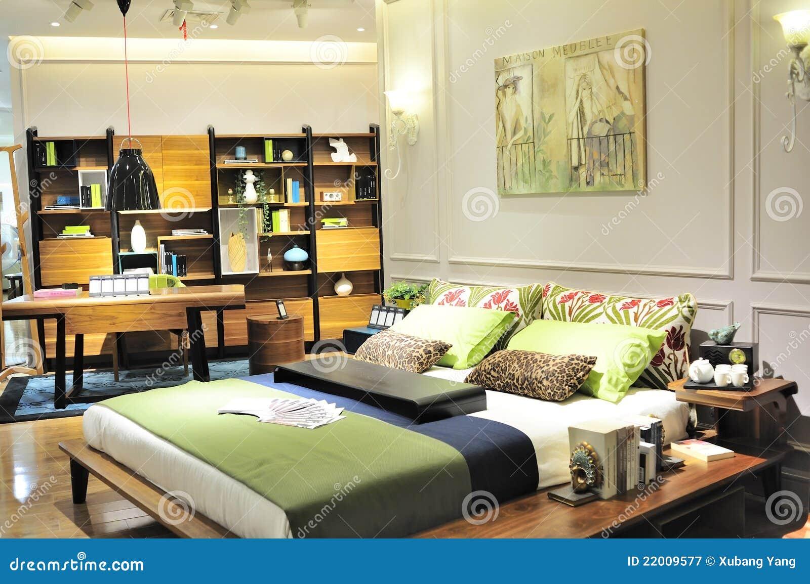 Rc Furniture Interior Design Stock Dealer ~ Elegant bedroom interior design with floral pattern