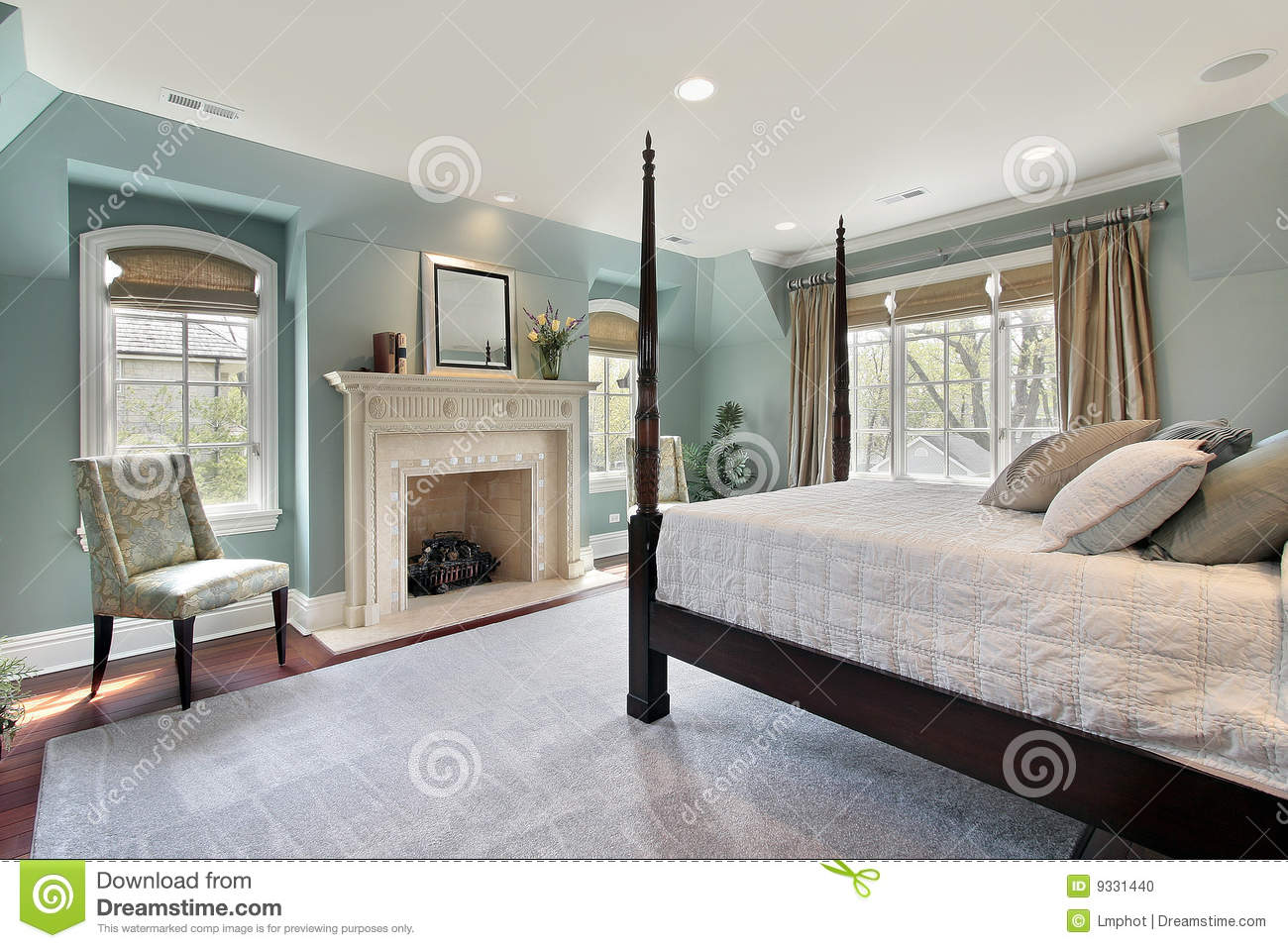 Bedroom home luxury master
