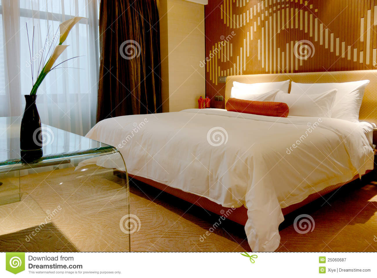 Bedroom of hotel