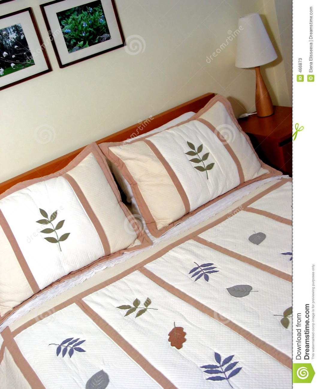 Download Bedroom interior 3 stock image. Image of family, design - 466873