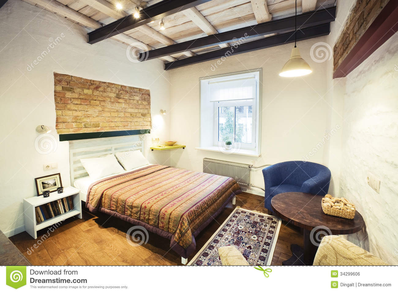 Bedroom Royalty Free Stock Image Image 34299606
