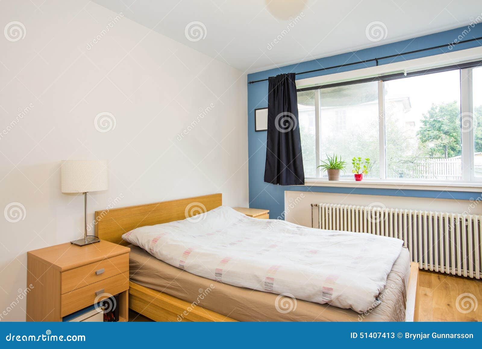 Bedroom interior stock photo image 51407413 for Interior design bedroom blue