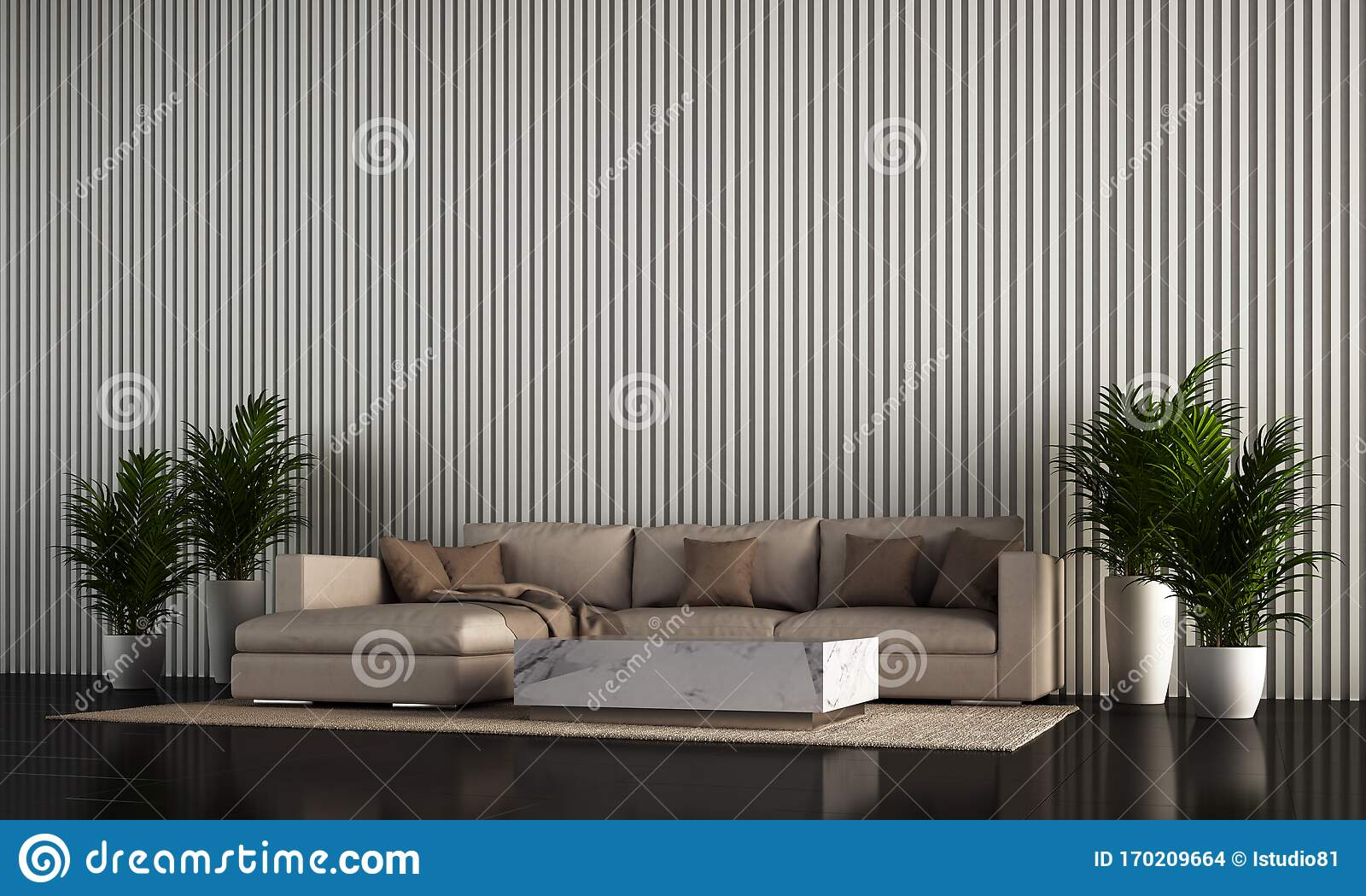 The Interior Design Of Modern Cozy Living Room And Wooden Texture Wall Background And Side Table Stock Illustration Illustration Of Bathe Area 170209664