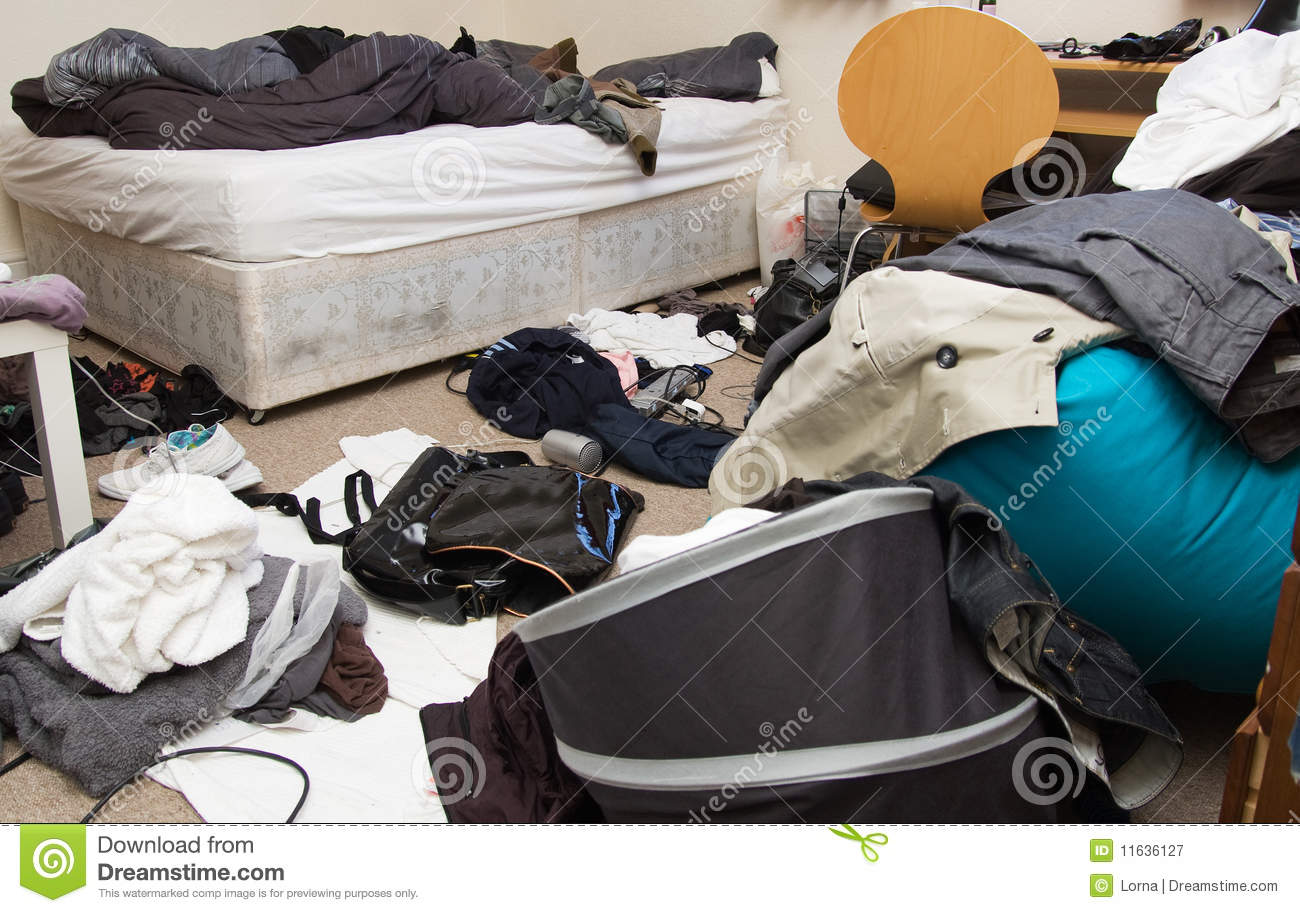 Bedroom Messy Room Royalty Free Stock Photography - Image ...