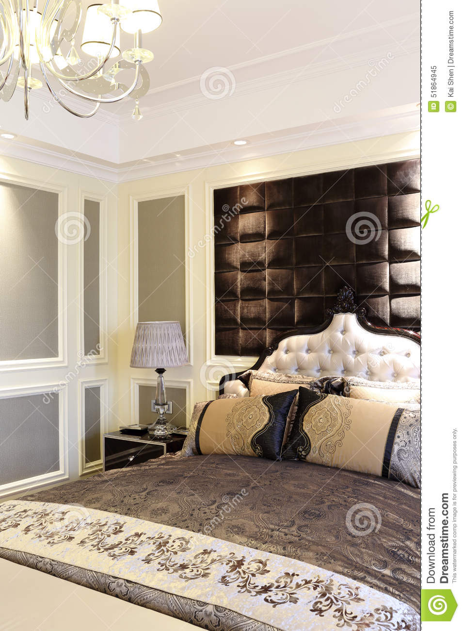 The Bed Stock Photo Image 51864945