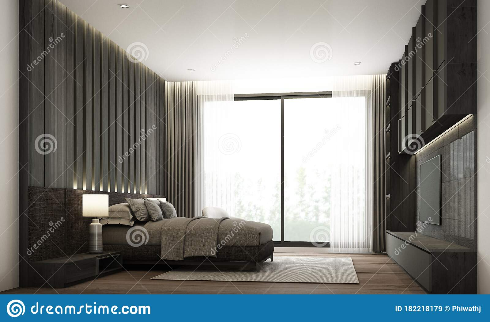 Bedroom Modern Minimal Style With Built In Headboard And Tv Cabinet Stock Illustration Illustration Of Decoration Floor 182218179,What Is Negative Energy Balance