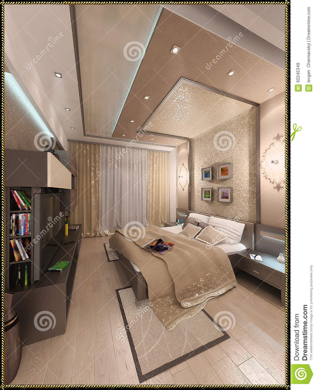Bedroom Design Ideas Interior Modern Render