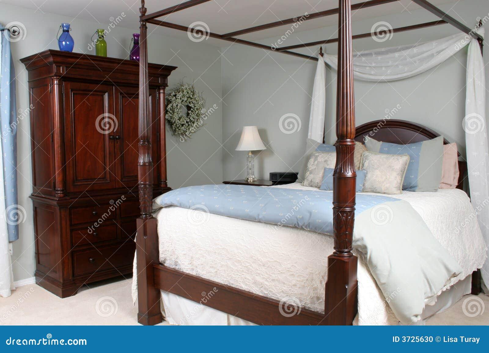 Bedroom Retreat Stock Photo Image 3725630