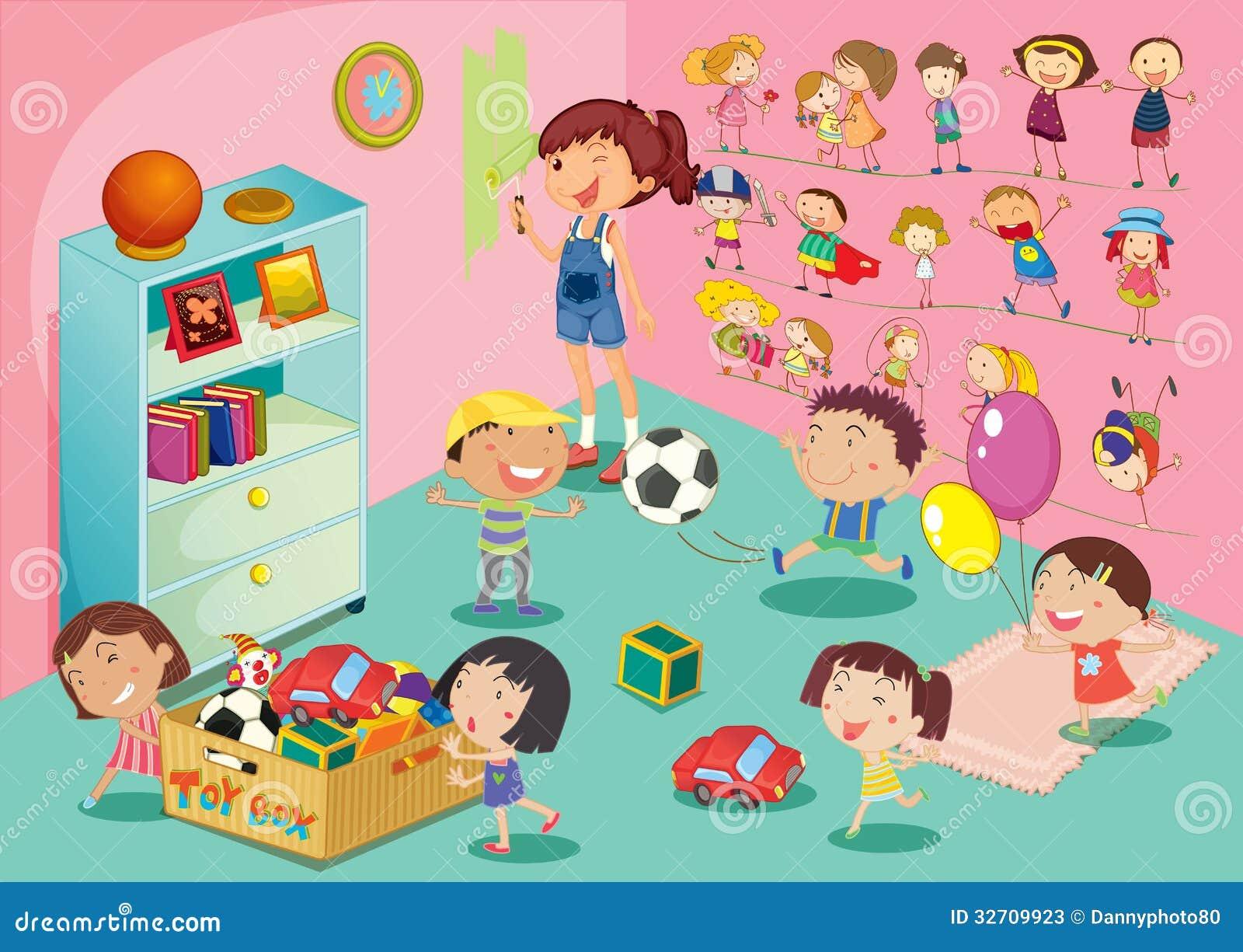 Bedroom Scene Stock Photos Image 32709923
