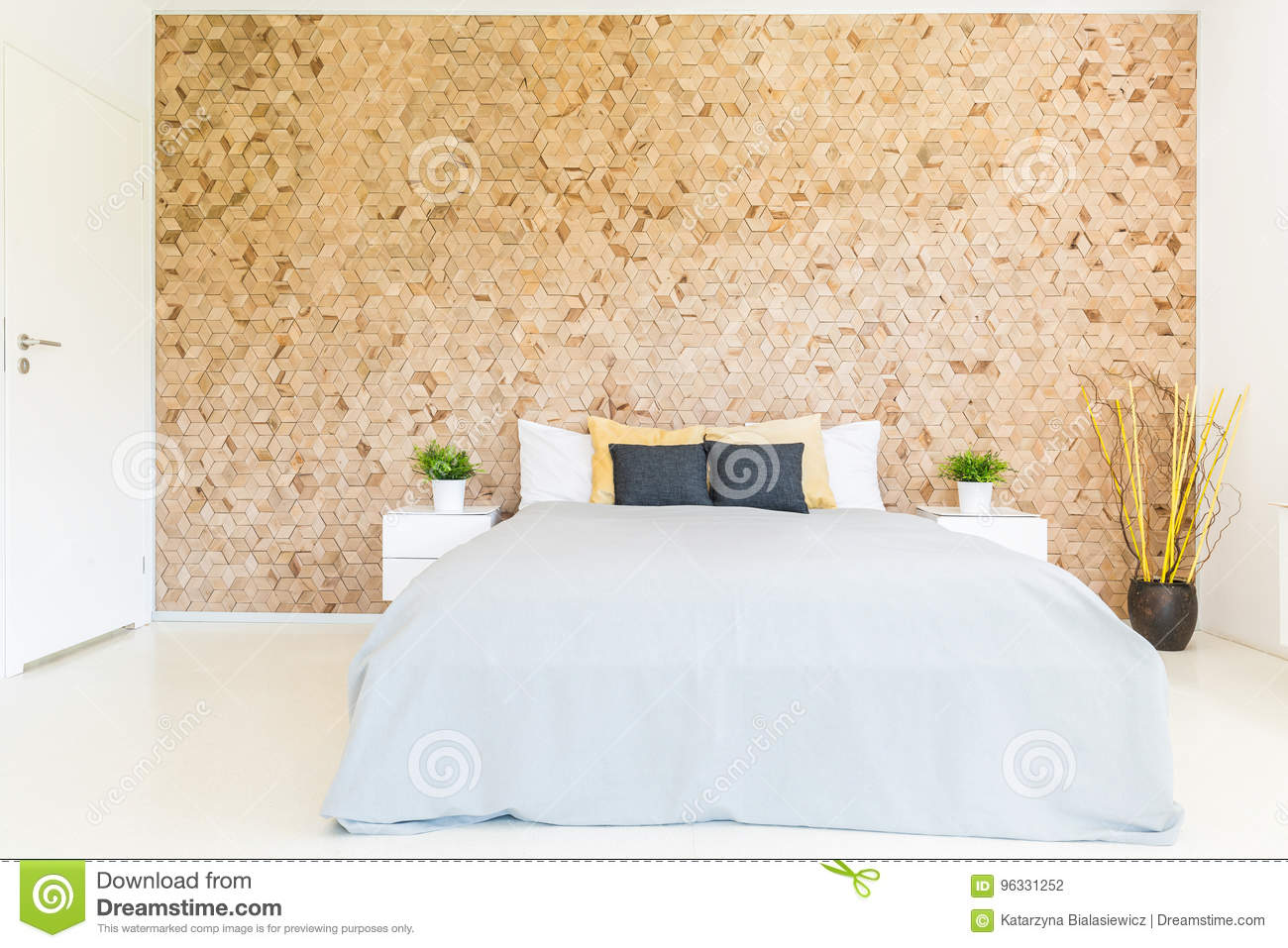 mosaic bedroom furniture. Bedroom With Wooden Mosaic Wall Stock Photo - Image Of Modern, Marriage: 96331252 Furniture N